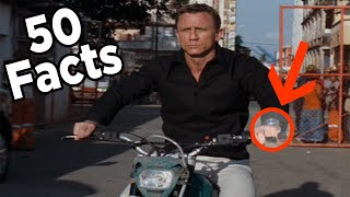 50 James Bond Facts You Should Know (Daniel Craig Edition)