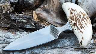 How to Make a Gambler's Push Dagger From an Old File