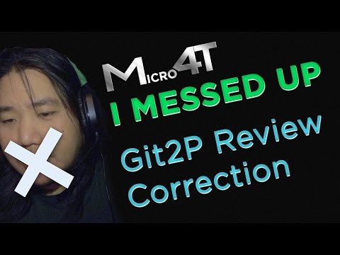 I Messed Up, Git2P Photos - Review Correction - M4T - OffTC