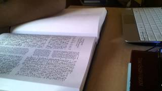Interlinear Bible Read through Part 1 - Matthew Chapters 1 - 3