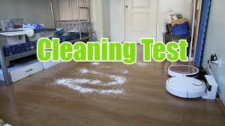 ILIFE V7S vs Xiaomi Robot Vacuum: Cleaning and Navigation Test on Bare Floor