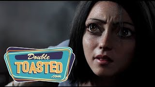 ALITA BATTLE ANGEL (2018) OFFICIAL MOVIETRAILER REACTION - Double Toasted Review