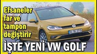Yeni VW Golf 2017 test sürüşü - inceleme - yorum