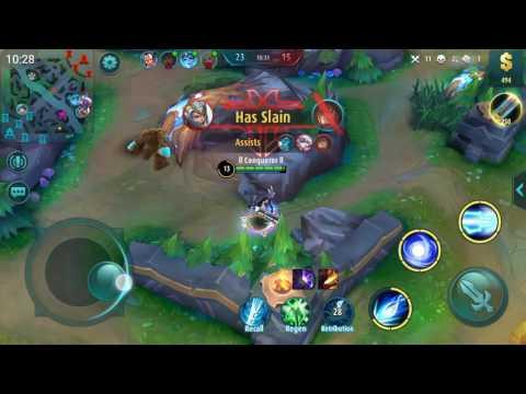LAYLA FULL GAMEPLAY #1 - Mobile Legends: 5v5   SGZ.Conqueror  