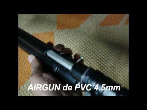 Arma caseira de pressão AIRGUN MAURICIO