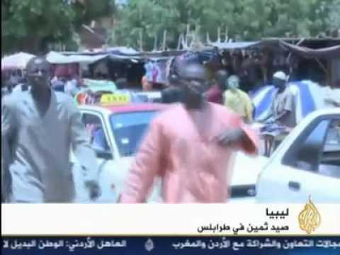 دخول الساعدي القذافي و بعض القادة العسكريين الى النيجر