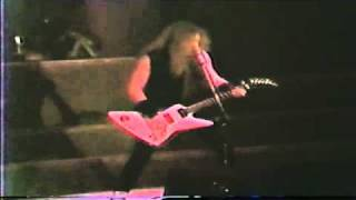 Metallica Battery Live in 1986 at Quebec City Canada.flv