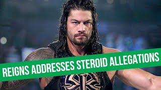 Roman Reigns Responds To Steroid Allegations   Goldberg To NJPW?