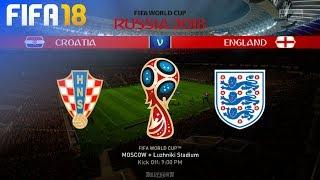 FIFA 18 World Cup - Croatia vs. England @ Luzhniki Stadium