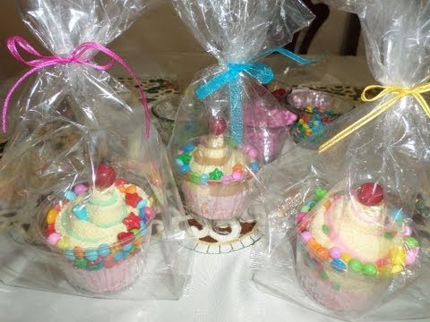 Cupcakes con Toalla Facial