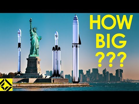 VFX artist shows you how BIG SpaceX rockets REALLY are!