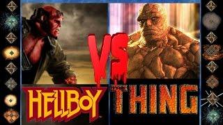 Hellboy (Dark Horse Comics) vs the Thing (Marvel Comics) - Ultimate Mugen Fight 2015