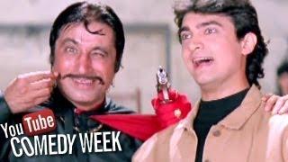 Andaz Apna Apna Hindi Movie | Best Comedy Scenes Jukebox | Salman Khan, Aamir Khan | Comedy Week