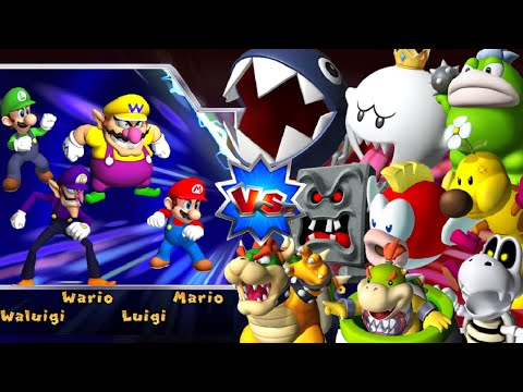 Xxx Mp4 Mario Party 9 Boss Rush All Boss Battles Vs Master CPU 3gp Sex