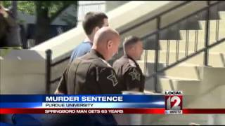 Purdue shooter sentenced to 65 years in prison