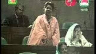 Bnp mp. woman hit speech Bangla! Pls listen !