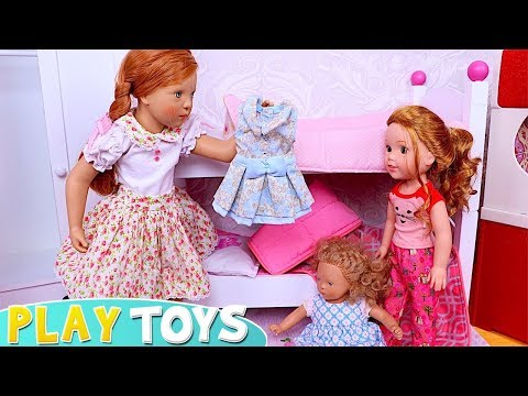 Xxx Mp4 Mommy And Me Baby Dolls Petitcollin Dress Up For School Day In The Dollhouse 3gp Sex