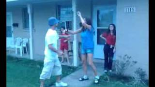 Gage slaps step mom