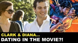 Man of Steel 2013 Wonder Woman Cameo?! Gina Carano & Henry Cavill to date in DC Cinematic Universe?
