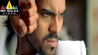 Chirutha Movie Charan Saving Neha Fight Scene   Ram Charan, Neha Sharma   Sri Balaji Video