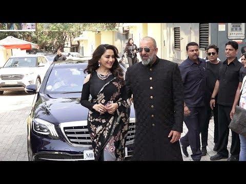 Xxx Mp4 Sanju Baba 39 S MACHO ENTRY With Ex Gf Madhuri Dixit At Kalank Trailer Launch 3gp Sex