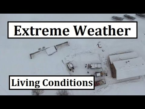 Xxx Mp4 Can We Really Live Up Here In EXTREME Weather Like This 3gp Sex