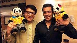 Jackie Chan MEETS Salman Khan In Mumbai | Kung Fu Yoga Promotion