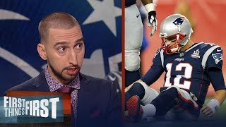 Tom Brady played like a 40 year-old quarterback against the Chiefs in Week 1 | FIRST THINGS FIRST