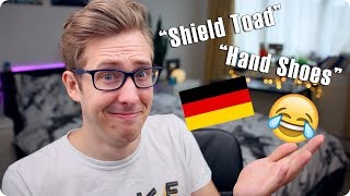 If English Was Like German! Funniest German Words | Evan Edinger