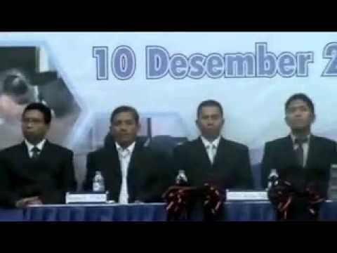 Ketua Senat Akademik ATS Membuka Rapat Terbuka Luar Biasa (WISUDA XVIII D3 ATS 2011)
