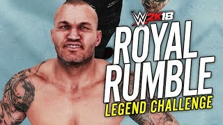 WWE 2K18 - ROYAL RUMBLE CHALLENGE!! (Legend Difficulty)