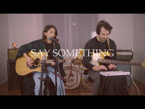 Download Say Something - Justin Timberlake ft. Chris Stapleton (Pin Up Live Cover) On VIMUVI.ME