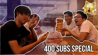 10X DOUBLE CHEESEBURGER !! (400 SUB SPECIAL !!!)