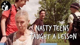 Anti bullying short film: The Bus stop (2017)