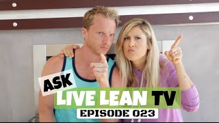 Fav Packaged Snacks, Canned Foods To Avoid, Fight A Cold | #AskLiveLeanTV Ep. 023