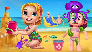 Summer Vacation - Fun At The Beach - Educational Game For Little Kids