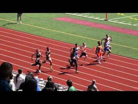 Boys 100M Dash Prelims (3A), WIAA State Championships 2012
