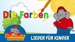 Benjamin Blümchen - Die Farben LIEDER FÜR KINDER mit TEXT zum Mitsingen