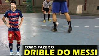 COMO FAZER O DRIBLE DO MESSI (DRIBLE DE CORPO)