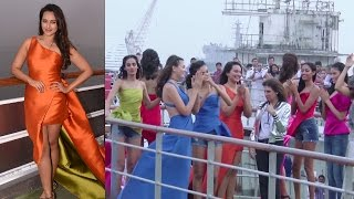 Sonakshi Sinha Fashion Show On A Cruise |Lakme Fashion Week 2017