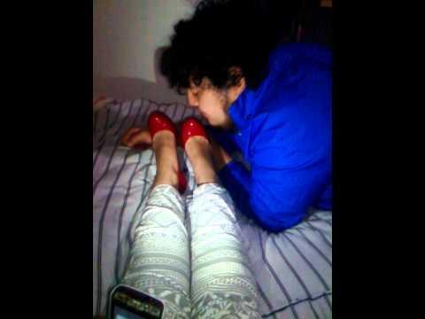 Femdom Shoe Licking