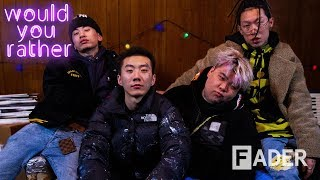 Higher Brothers hold hands everywhere, debate snakes, and more
