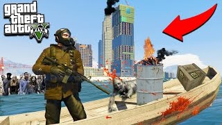 GTA 5 ZOMBIE MOD: ZOMBIE TSUNAMI SURVIVAL!!! (GTA 5 Mods)