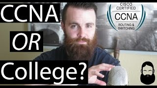 CCNA or COLLEGE? - Become a Network Engineer