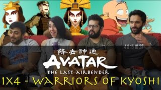 Avatar: The Last Airbender - 1x4 The Warriors of Kyoshi - Group Reaction