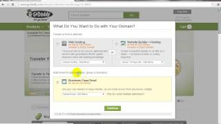 How To Transfer Domain To GoDaddy.com