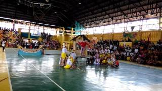 Talisay City CEntral ES champs the Division Folkdance COntest 2016