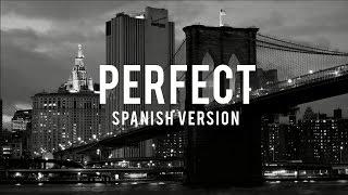 One Direction - Perfect (spanish version) - Dani Garcia (Lyric Video)