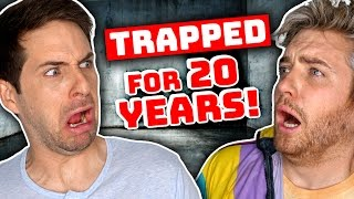 MAN TRAPPED IN ROOM FOR 20 YEARS
