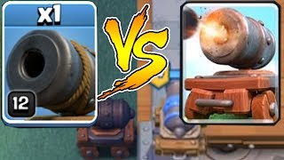CANNON COC Vs. CR!! | Clash of clans | WHICH IS BETTER!?!